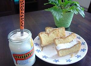 Ciasto ucierane z majonezem - ugotuj