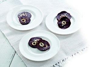 Magiczne czekoladowe krążki  z hiszpańskimi oliwkami - ugotuj