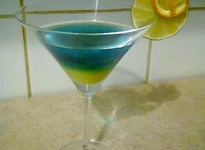 Blue Curacao :  Trójkolorowy : - ugotuj
