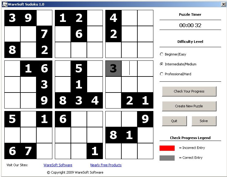 WareSoft Sudoku