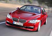 BMW Seria 6 Coupe [F13] 11-, rok produkcji 2011, coupe, widok przedni lewy, samochód 2-drzwiowy, kolor czerwony jasny
