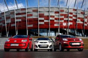 Fiat Panda vs. Kia Picanto vs. VW Up | Test porównawczy