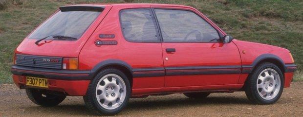 Peugeoty GTI dawniej i dziś
