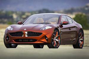 2012 New York Motor Show - Fisker Atlantic EVer