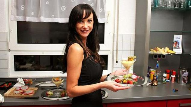 COME DINE WITH ME SUICIDE  A model killed herself after she was taunted by internet trolls about her fake boobs after starring on a TV Come Dine With Me-style show in Germany.  Brunette Claudia B, 32, was found dead in her apartment in Vellmar, Germany, after taking part in the local version of the programme, The Perfect Dinner.  Neighbours reported a strong smell of gas in the apartment block hall.  After her appearance last month, devastated Claudia suffered a barrage of abuse on email and social media from critics who accused her of being at attention seeker, showing off for the cameras.  Corinna Teuner - a spokeswoman for Vox, the station that made the show - said: