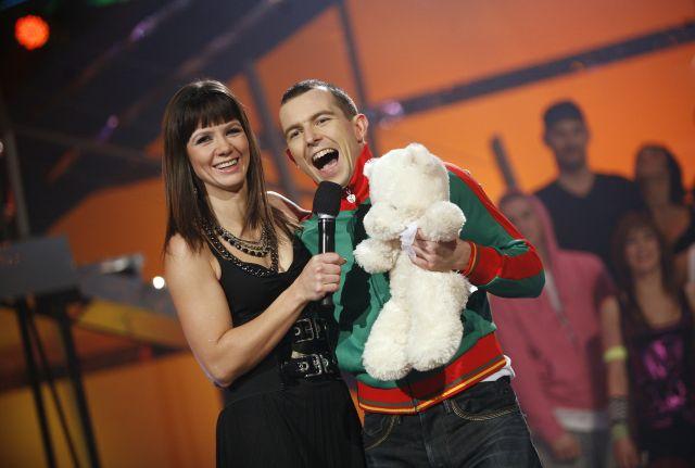 Kinga Rusin i Maciej Florek