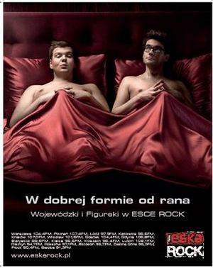 Kuba Wojewódzki, Michał Figurski w reklamie Eska Rock