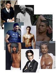 Męscy modele
