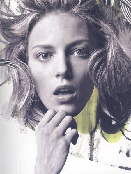 25 magazine - Defragmentation of beauty Anja Rubik