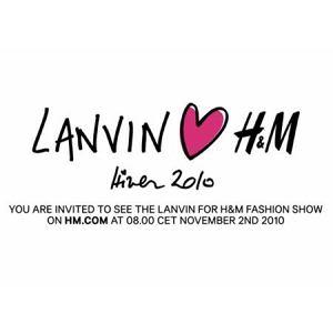 Lanvin for H&M - Designer Collaboration 2010