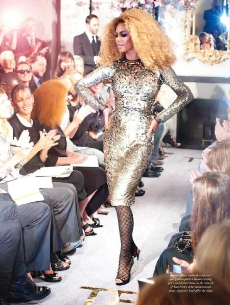 Beyonce pokaz Tom Ford - harper's bazaar styczeń 2011 - harper's bazaar styczeń 2011