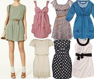 Mini sukienki na lato