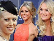 Makijaże i fryzury gwiazd na CMA