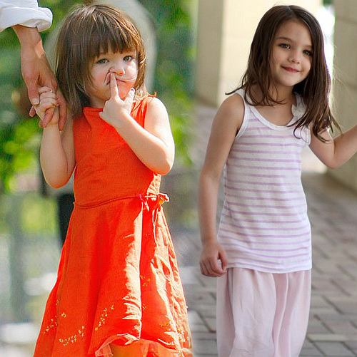 Suri Cruise, Fashion victim