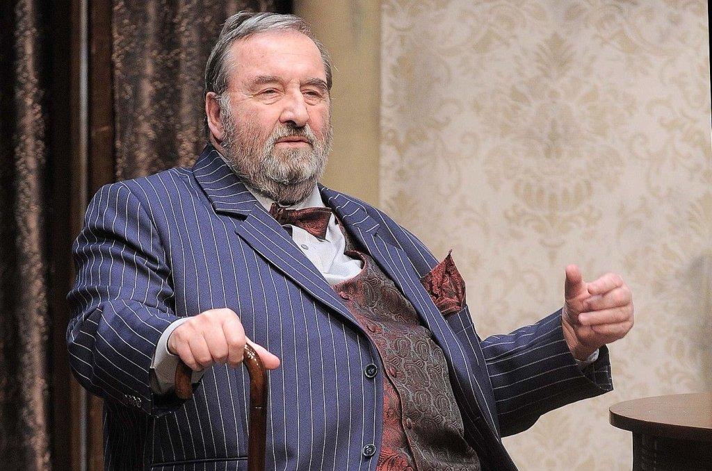 Krzysztof Kowalewski podczas próby w Teatrze 6.piętro (fot. KAPIF.PL)