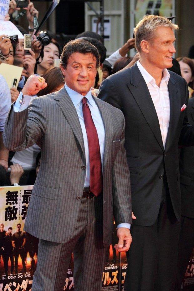Dolph Lundgren i Sylvester Stallone