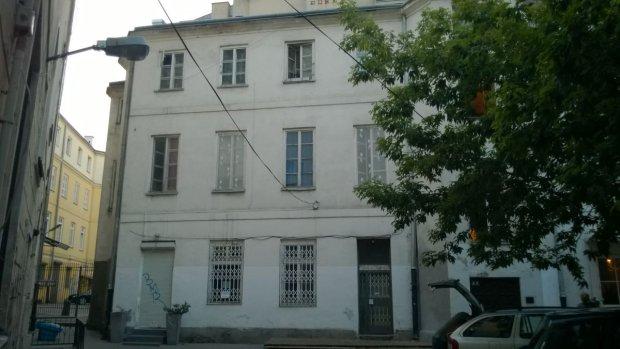 Dom przy ul. Brackiej 20, w którym po wojnie mieszkała pani Maria Majewska