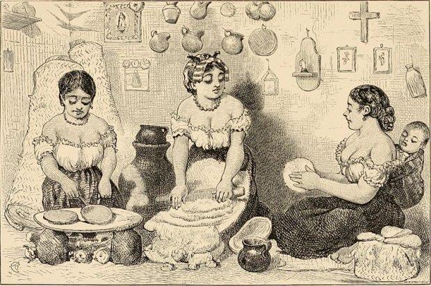 Meksyk, 1883, autor: Thomas Unett Brocklehurst (Wikimedia Commons)