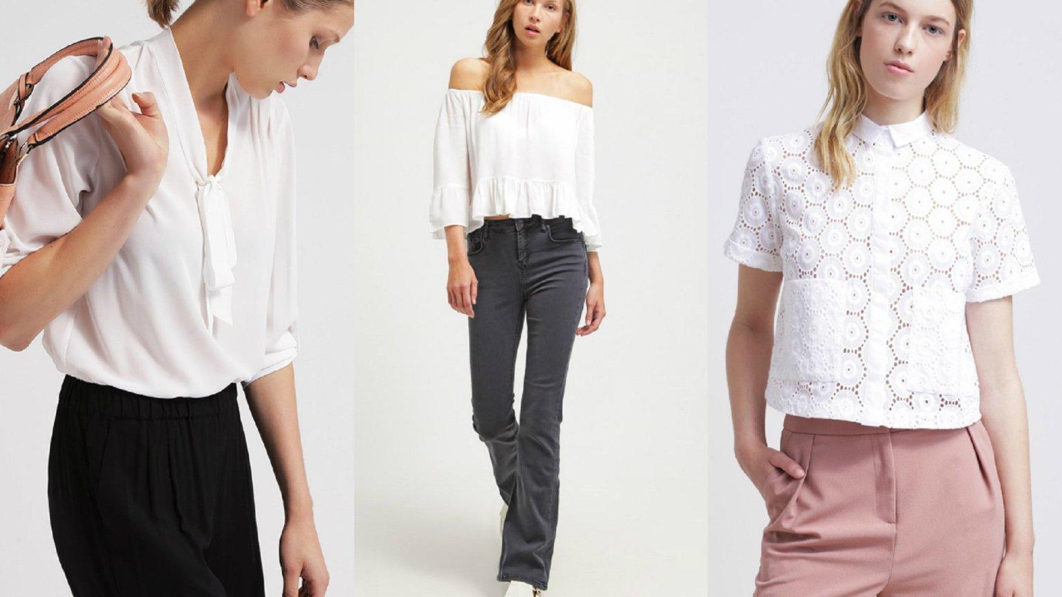 Poważnie Biała bluzka - 30 najciekawszych modeli wyłapanych z sieci UV67