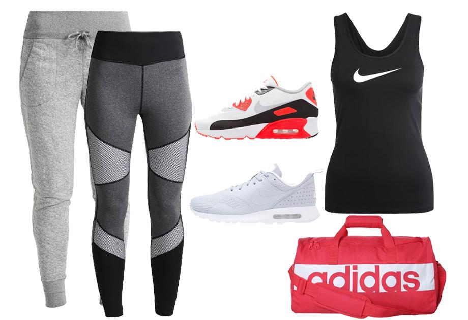 WYPRZEDAŻ odzież sportowa Sklep Sportowy Nike Adidas