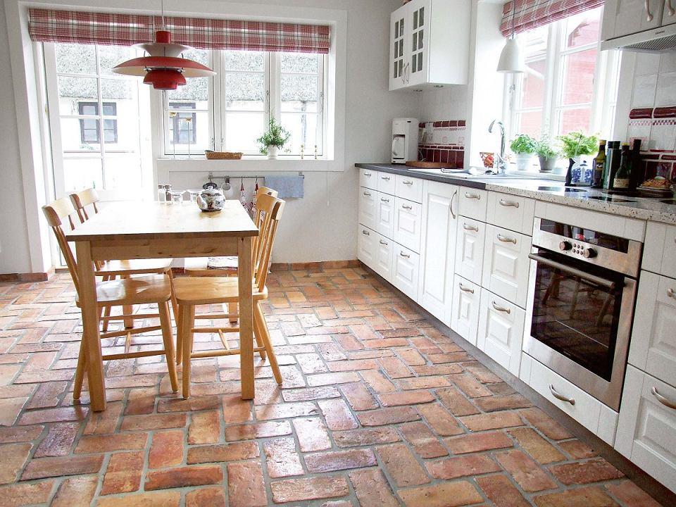 Niesamowite Podłoga w kuchni. Przegląd materiałów wykończeniowych DI91