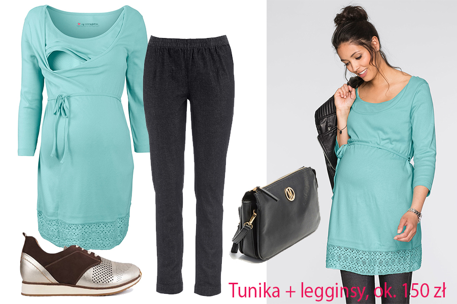 tunika + legginsy
