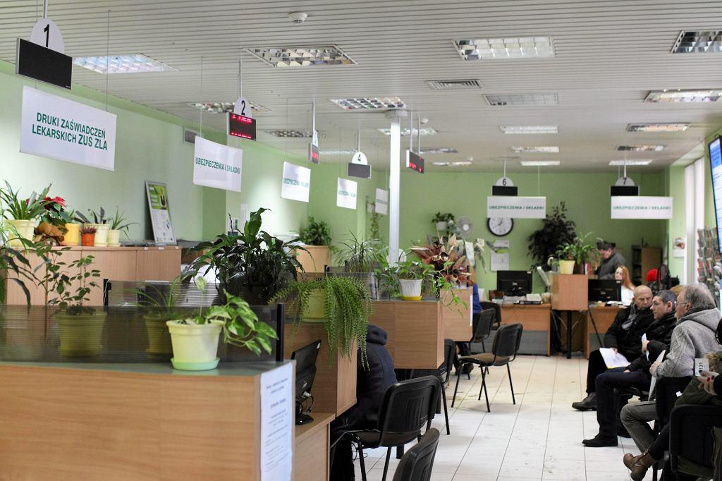 Biuro Obsługi Klienta ZUS w Olsztynie (fot. Przemysław Skrzydło / Agencja Gazeta)