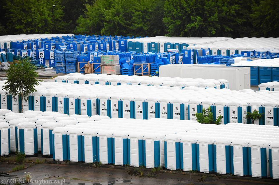 Inteligentny Tysiące toalet przygotowane na ŚDM [ZDJĘCIA] RC36