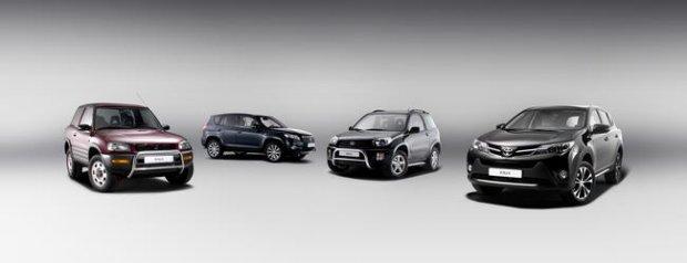 20 lat Toyoty RAV4
