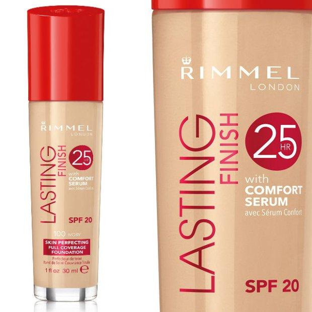 Nowy podkład Rimmel: Lasting Finish 25 H