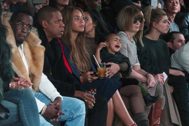 Beyonce, Kim Kardashian, North West, Anna Wintour