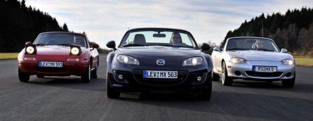 Mazda MX-5 | 25 lat roadstera wszech czasów