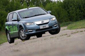 BYD e6 - test | Za kierownicą