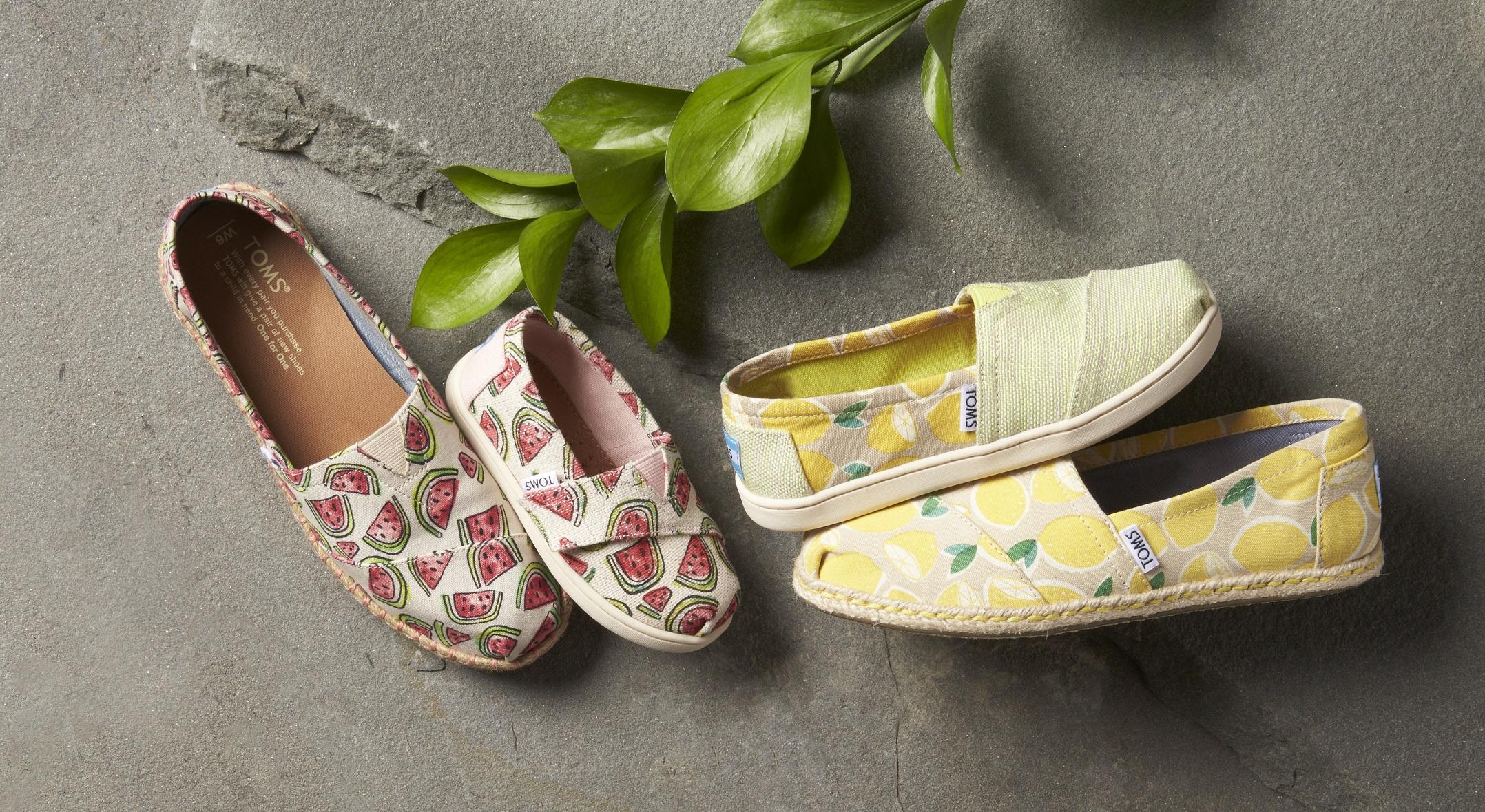 Nowa kolekcja butów TOMS