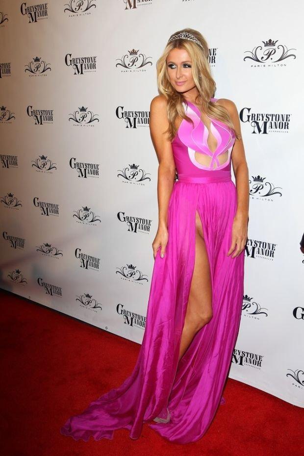Paris Hilton's birthday bash at West Hollywood's Greystone Manor.  Pictured: Paris Hilton