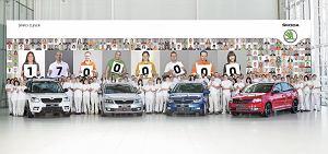 17 milionów samochodów Skody!