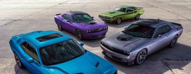Dodge Charger i Challenger; nowe kolory