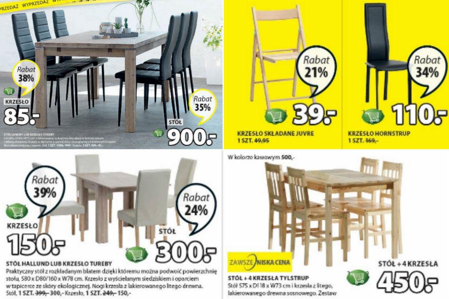 Stół i krzesła - odmień wizerunek swojej jadalni!