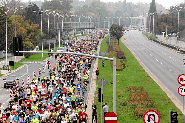 29.09.2013 Warszawa . 35 PZU Maraton Warszawski . Fot . Przemek Wierzchowski / Agencja Gazeta SLOWA KLUCZOWE: maraton bieg sport BIeganie /FR/