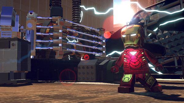 Lego: Marvel Superheroes - kadr z gry