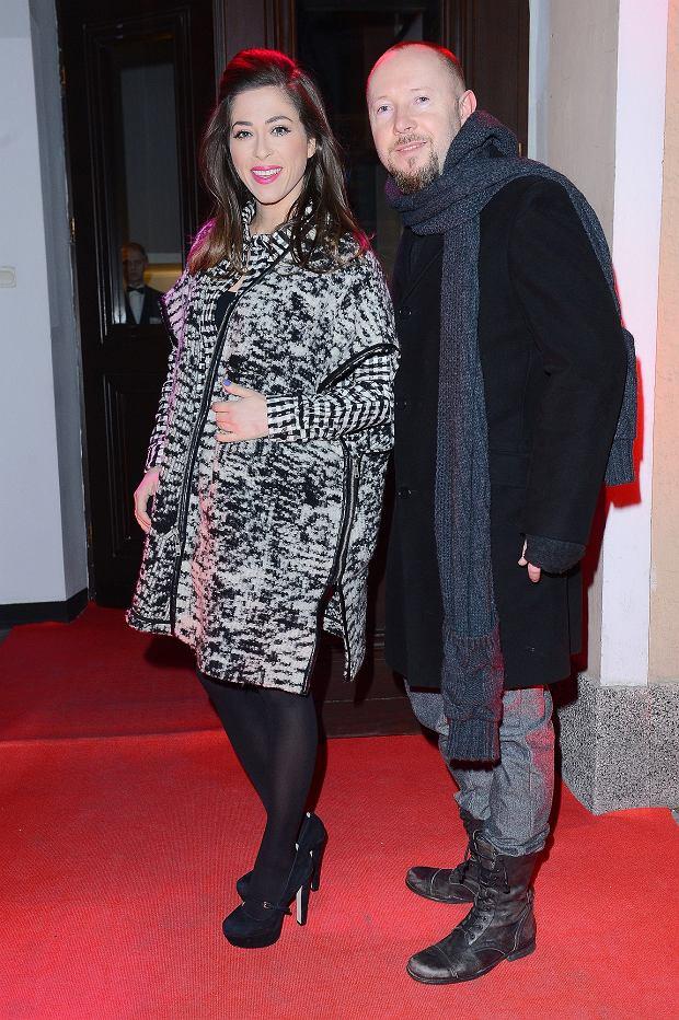 Natalia Kukulska i mąż Michał Dąbrówka