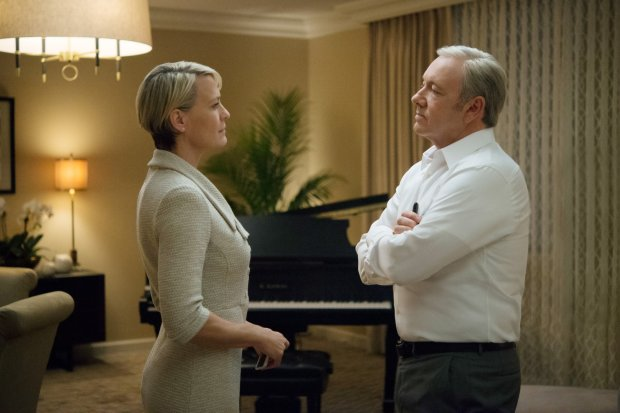 Robin Wright i Kevin Spacey