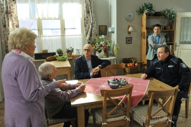 Teresa Lipowska, Witold Pyrkosz, Kacper Kuszewski, M jak miłość