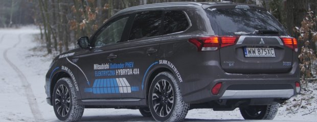 Mitsubishi Outlander PHEV   Test   SUV do miasta