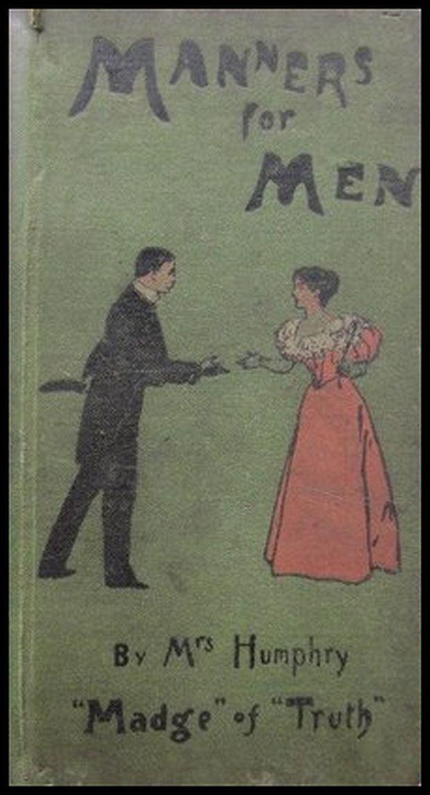 Dobre maniery, podręcznik dla mężczyzn