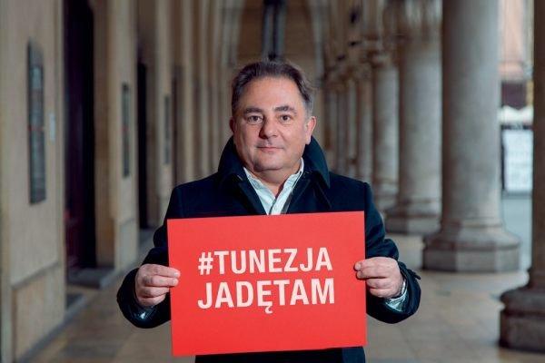 Robert Makłowicz w kampanii Tunezja. Jadę tam