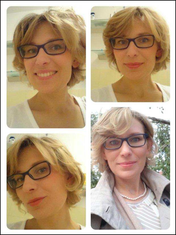 Nie jestem mistrzem selfie, ale gładkie i rumiane lico wykonane przy użyciu kosmetyków CC widać (Fot. Marta Lewin)