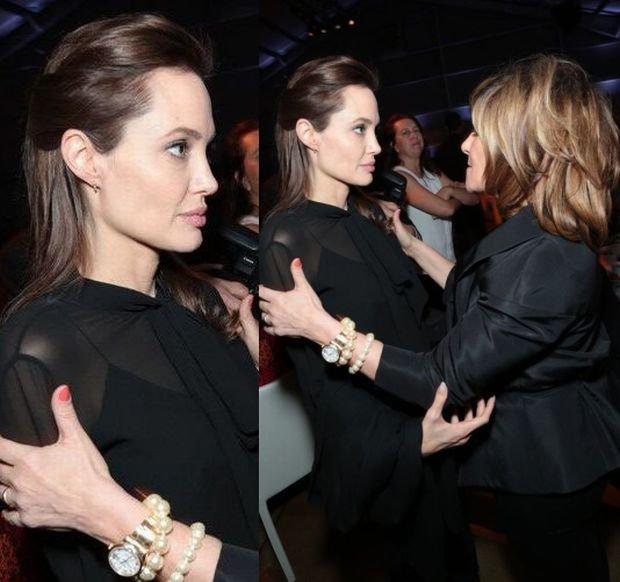 Angelina Jolie i Amy Pasal