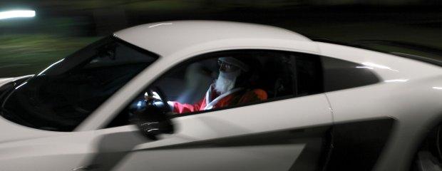 Audi R8 Świętego Mikołaja
