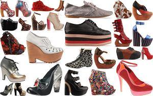 dziwne buty, niebanalne obuwie damskie